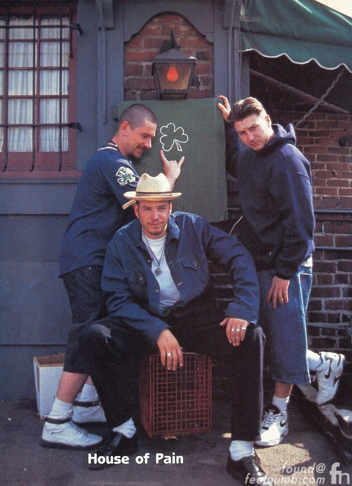 House of Pain 1992 Tom Bergin Irish Pub Fairfax Shamrock Danny Boy O'Connor