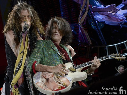 Joe Perry Billie Perry Guitar Gibson Aerosmith