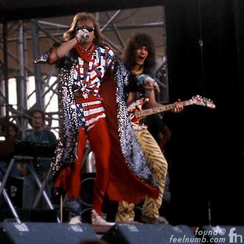Van Halen Last Show Michael Anthony David Lee Roth September 2, 1984 Nuremburg