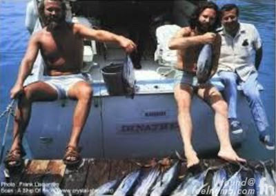Jim Morrison Fishing Miami Bahamas Trial 1970