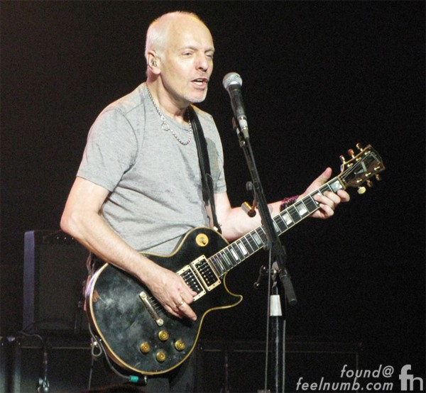 Peter Frampton's 2012 Tour 1957 Les Paul