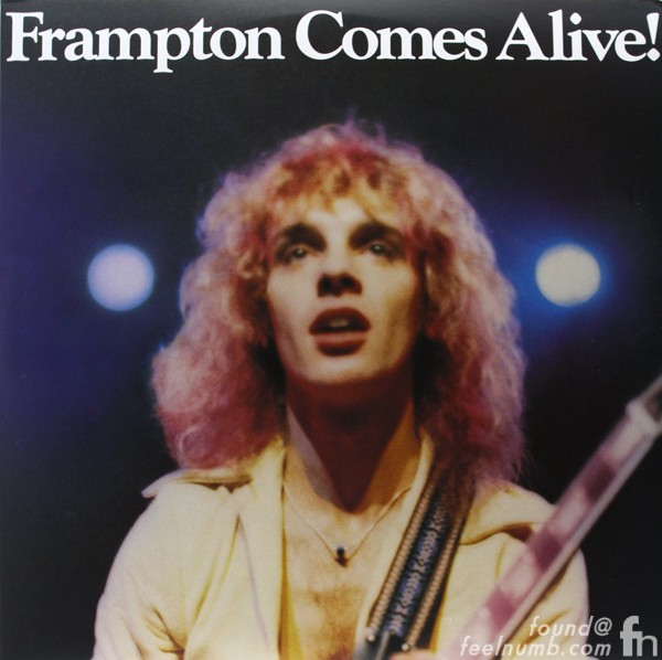 Frampton Comes Alive Album Cover Guitar Les Paul