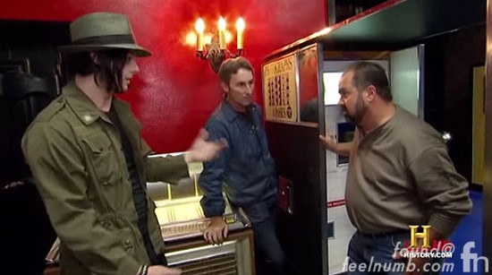 Jack White American Pickers Frank Fritz Mike Wolfe