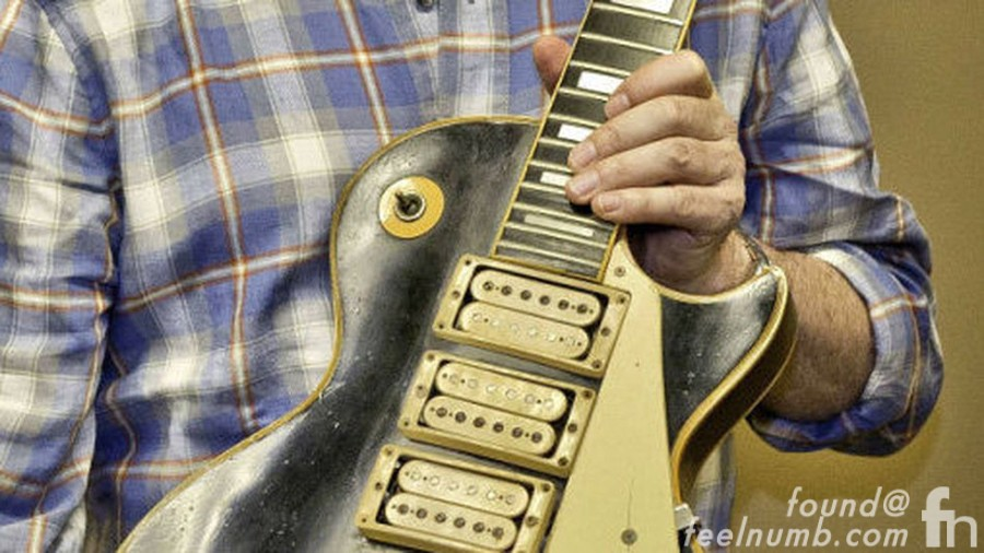 Peter Frampton Les Paul Returned Plane Crash