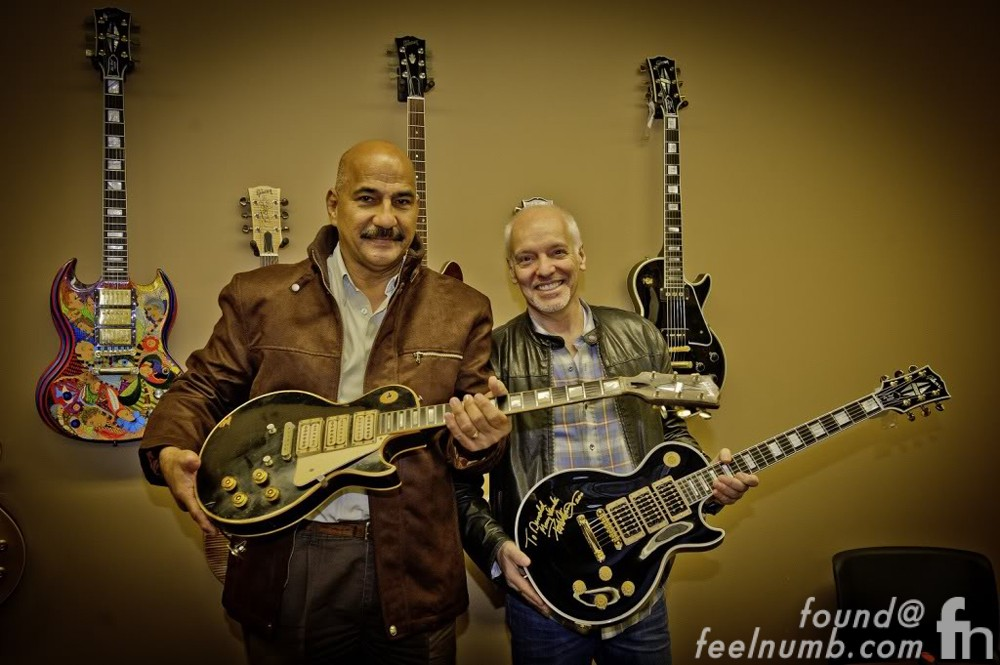 Peter Frampton Guitar Returned Les Paul Plane Crash