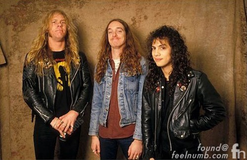 Cliff Burton Last Photo Session Metallica James Hetfield Kirk Hammett