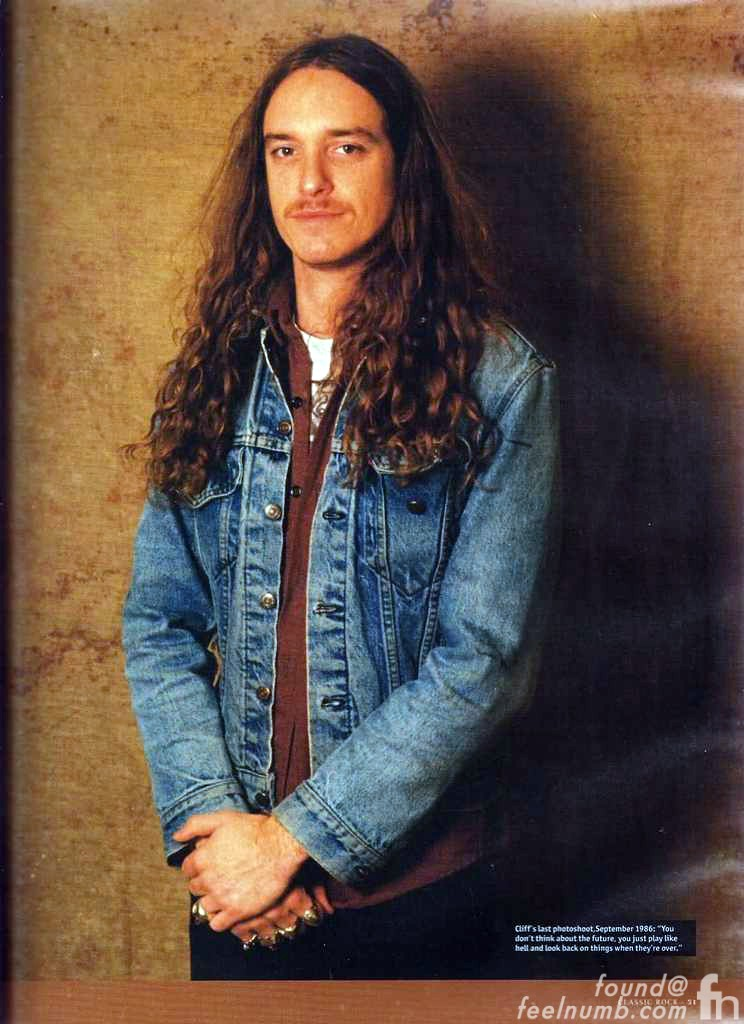 Cliff Burton Last Photo Metallica 1986