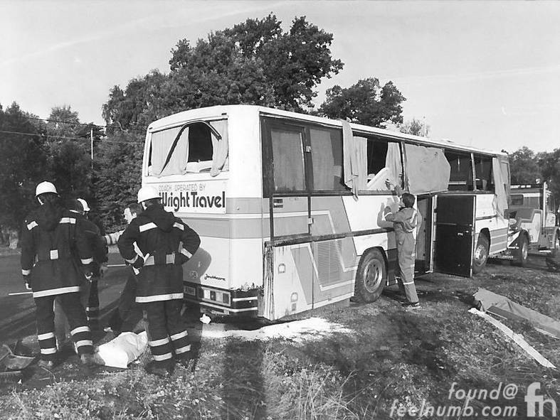 Metallica Cliff Burton Bus Accident Death 1986 Sweden