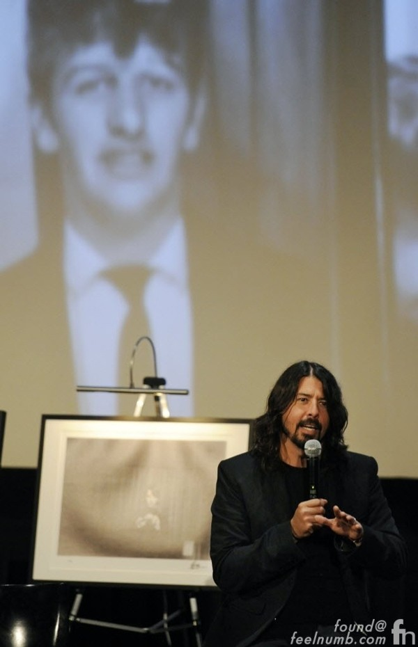 Dave Grohl on Ringo Starr Drumming