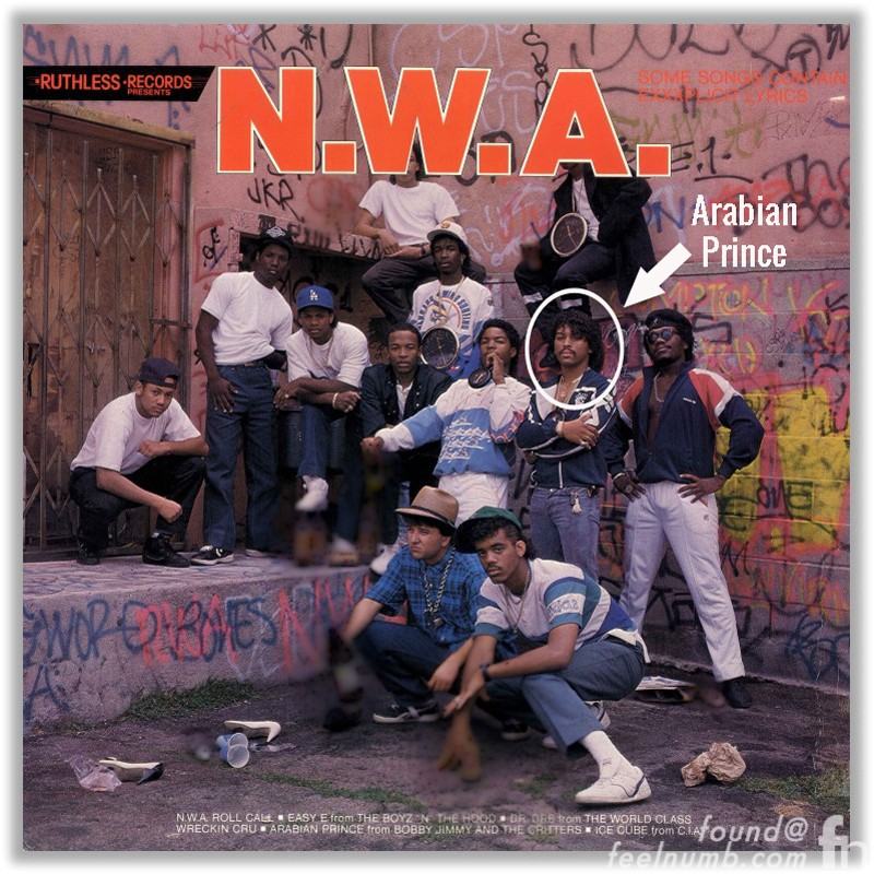N.W.A. and the Posse Arabian Prince Original Member
