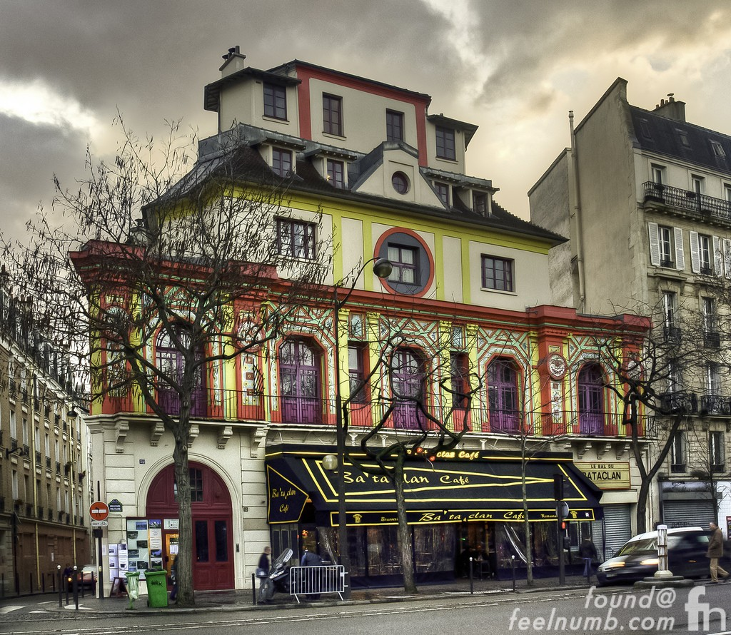 Bataclan Theatre Paris France Eagles of Death Metal November 13, 2015