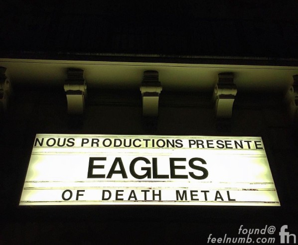 Eagles of Death Metal Concert November 13, 2015 Bataclan Paris France