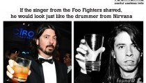 Foo Fighters Singer Looks Like The Nirvana Drummer