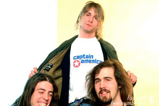 Kurt Cobain Eugene Kelly Captain America The Vaselines