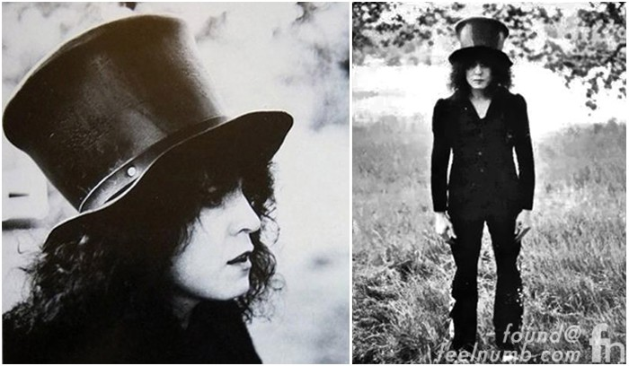 Marc Bolan The Slider T. Rex Ringo Starr Photo Tittenhurst Park John Lennon