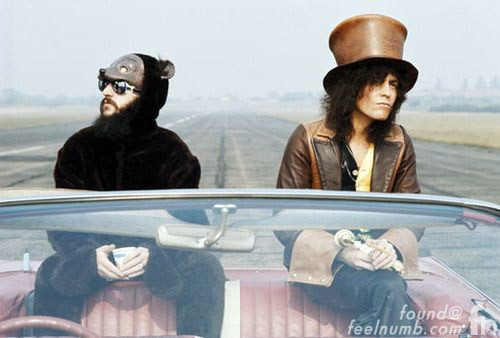 Ringo Starr Marc Bolan T. Rex Album Cover Photo