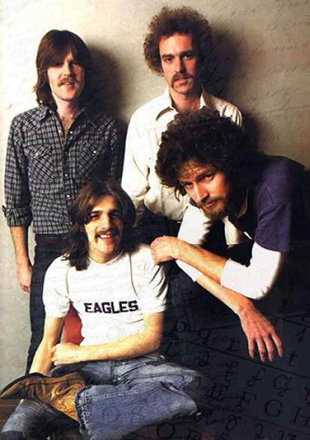 Glenn Frey Wearing The Eagles Band Merch Shirt