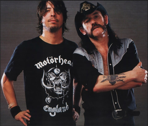 Lemmy Kilmister Motorhead Dave Grohl Foo Fighters Nirvana Tattoo