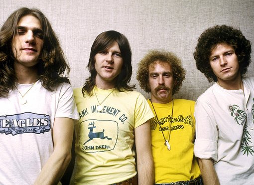 Glenn Frey Wearing The Eagles Band Shirts Desperado