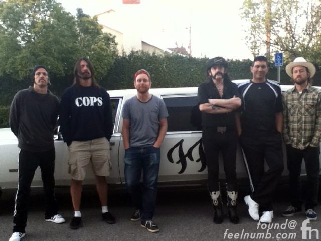 Foo Fighters Lemmy Moorhead White Limo Video Dave Grohl Wiley Hodgden Driver