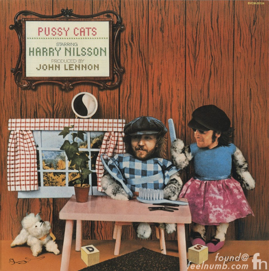 Harry Nilsson John Lennon Pussy Cats Lost Weekend 1974 Drugs Album Cover