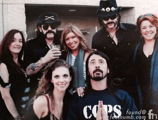 Lemmy Kilmister Foo Fighters White Limo Video Wiley Hodgden Chevy Metal