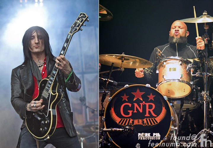 Guns N Roses 2016 Line-Up Richard Fortus Frank Ferrer