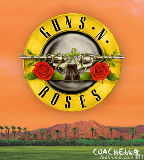 Guns N' Roses Confirmed Band Line-Up Coachella Tour