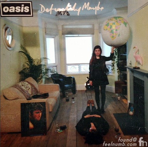 Molly Moorish Gallagher Liam Daughter Definitely Maybe Album Cover Oasis