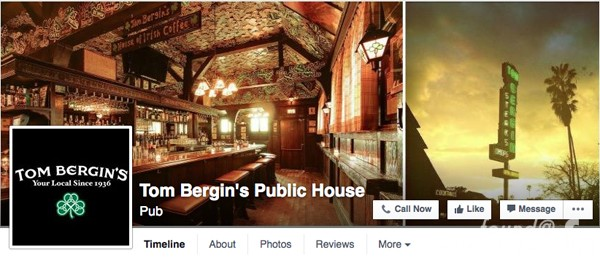 Tom Bergins Public House of Pain Facebook Shamrock Movement feelnumb.com