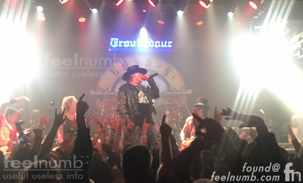 Guns N' Roses April 1, 2016 The Troubadour West Hollywood GN'R Reunion Concert