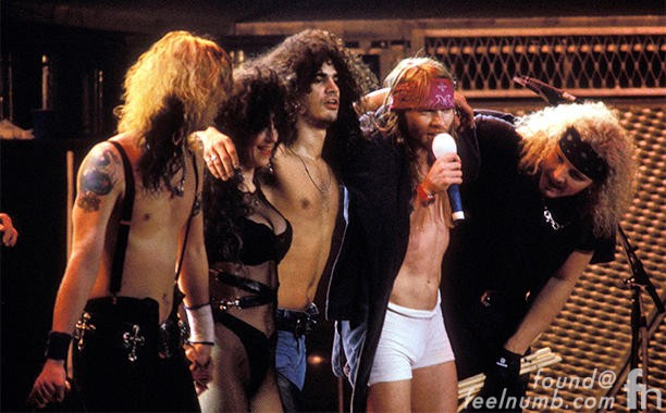 Last Guns N' Roses Show July 17, 1993 Buenos Aires Argentina Troubadour April 1, 2016 feelnumb.com