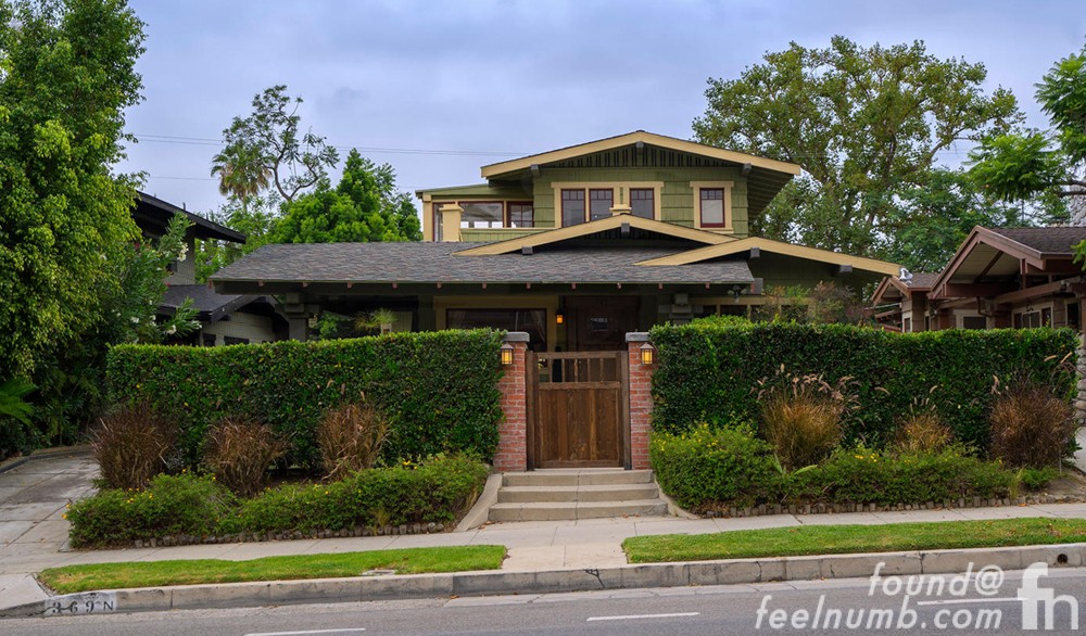 368 N. Wilton Place Los Angeles California Jane's Addiction House Jane Bainter Photo Location