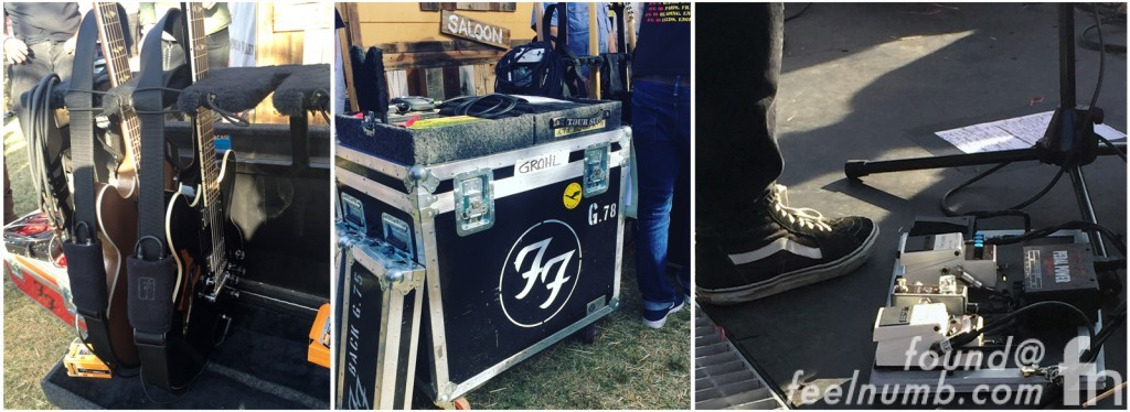 Dave Grohl Foo Fighters Chevy Metal Guitar Rig Set Up Pedals