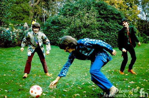 The Beatles John Lennon Soccer Photobomb Magical Mystery Tour 1967