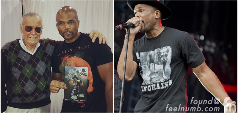 Darryl McDaniels Run-D.M.C. Alice in Chains Rock N' Roll Shirt
