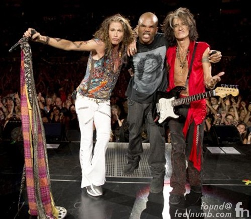 Aerosmith Run-D.M.C. Jim Morrison The Doors Steven Tyler Joe Perry