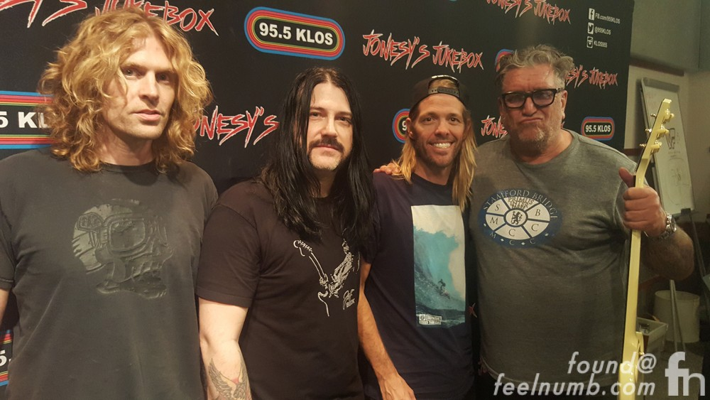 Chevy Metal Jonesy Jukebox Taylor Hawkins Wiley Hodgden Mick Murphy Foo Fighters