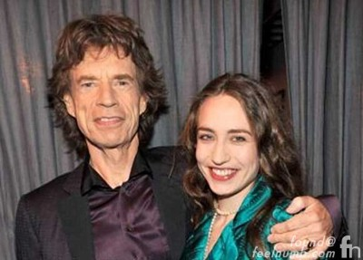 Mick Jagger Daughter Elizabeth Lizzie Scarlett Daughter Baby Momma Rolling Stones