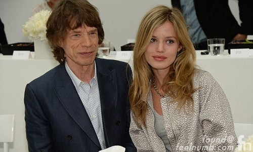 Mick Jagger Daughter Georgia May Baby Momma Children Rolling Stones