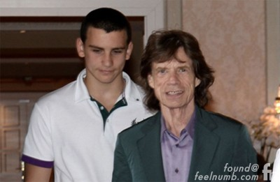 Mick Jagger Son Gabriel Rolling Stones