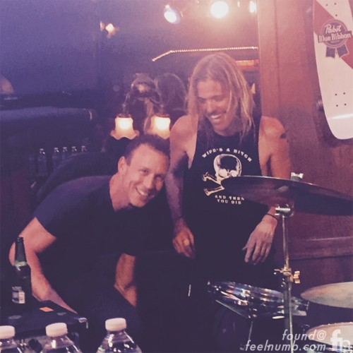 Taylor Hawkins Stephen Perkins Jane's Addiction Foo Fighters Chevy Metal