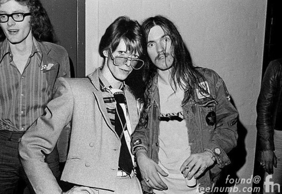 David Bowie Lemmy Motorhead Fake Photoshop Photo Death
