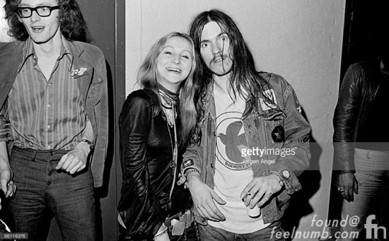 Lemmy Kilmister Motorhead David Bowie Photo 1972