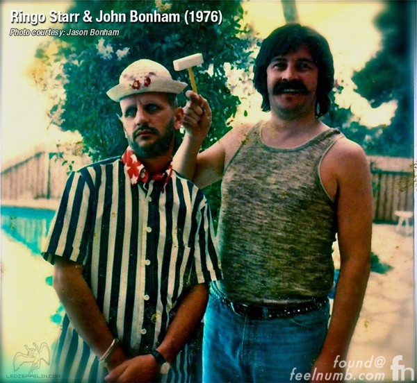 Ringo Starr John Bonham The Beatles Led Zeppelin Helter Skelter Mash-Up 1976