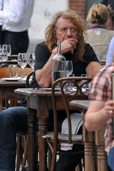 Robert Plant Led Zeppelin Lunch 2010 Oakland 1977