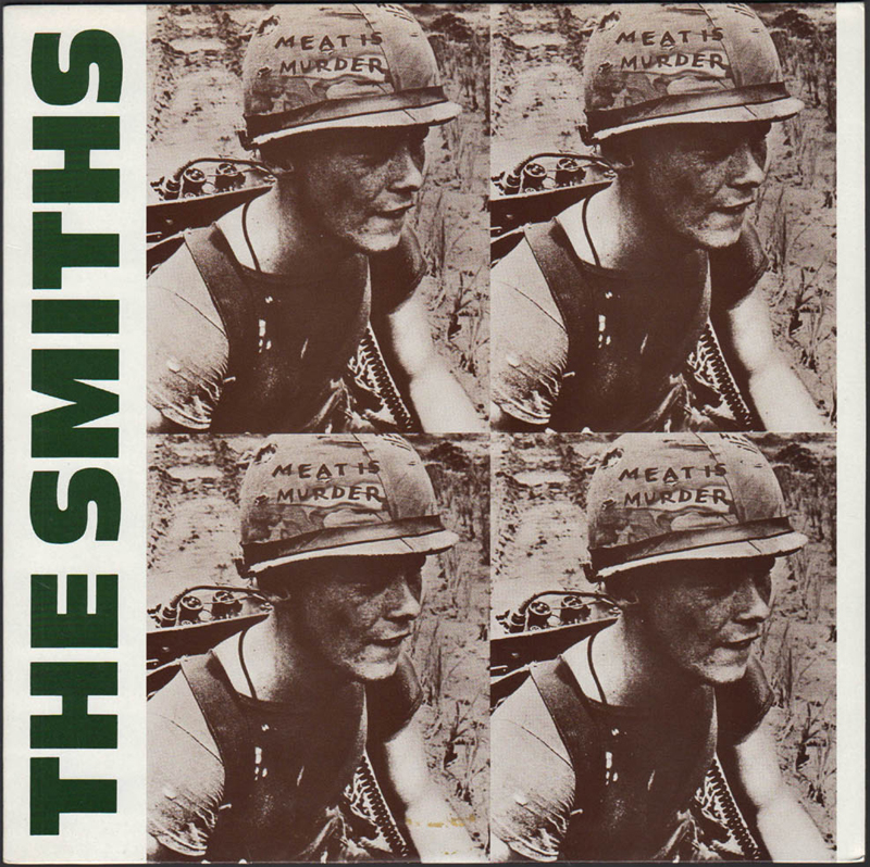 The Smiths Meat Is Murder Album Cover Soldier Love Not War Marine Cpl. Michael Wynn