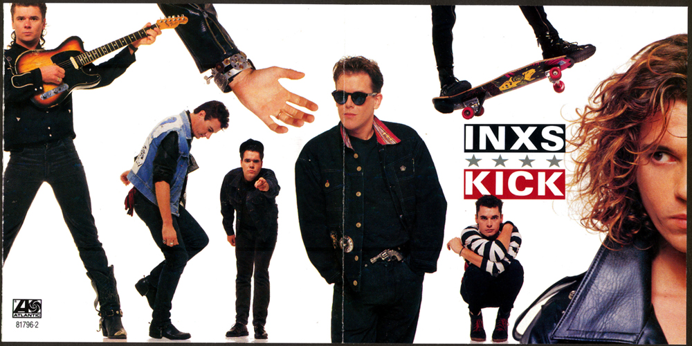 INXS Kick Full Album Cover Photo Vision Skateboard PsychoStick