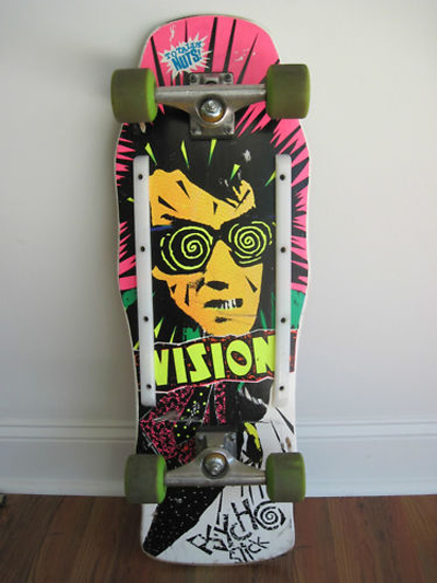 Vision Skateboards PsychoStick INXS Kick Album Cover