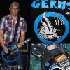 Pat Smear Foo Fighters Germs Hagstrom Guitar Logo